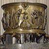 Fonts baptismaux de la collégiale Saint-Barthélemy