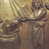 Fonts baptismaux romans du XIIeme siècle - collégiale Saint-Barthélemy